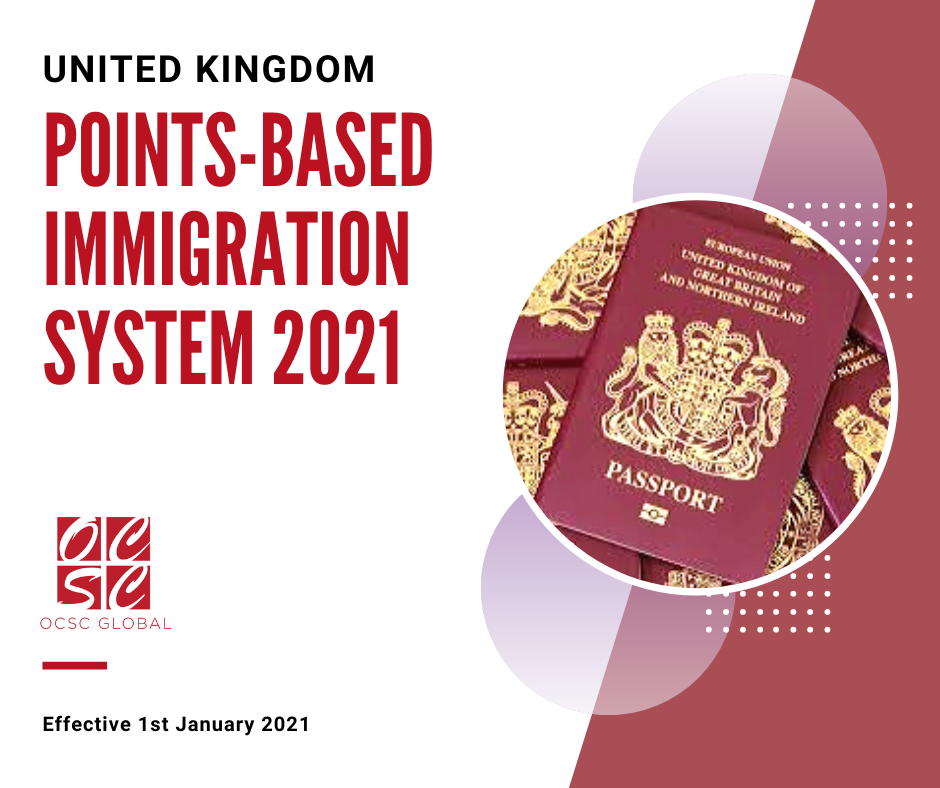 UK Points-based Immigration System